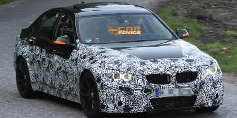 BMW M3 sedan could arrive before coupe