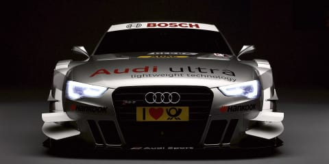 Audi RS5 DTM racer revealed at Geneva