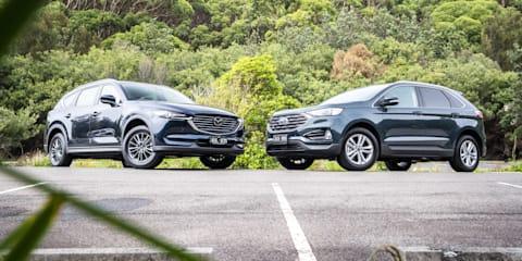 2019 Ford Endura v Mazda CX-8 comparison
