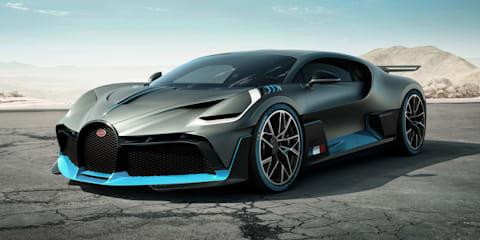 Bugatti Divo unveiled