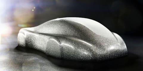 Porsche tuner Gemballa develops real diamond paint finish