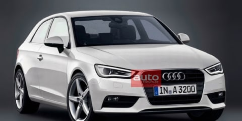 Audi A3 image appears online