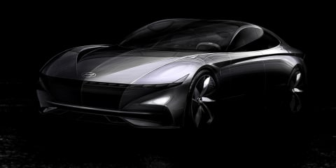 Hyundai HDC-1 concept previews 'Le Fil Rouge' styling direction