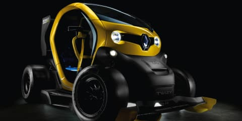 Renault Twizy RS F1 concept: racecar-inspired city car unleashed