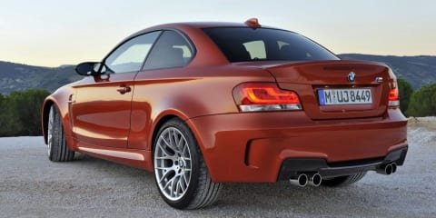BMW 1-Series M Coupe revealed in Detroit