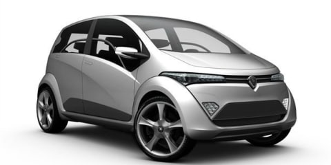 Proton, Lotus, Italdesign Giugiaro combine for hybrid city car concept