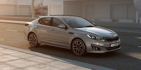 Kia Optima T-Hybrid :: diesel hybrid concept to debut in Paris