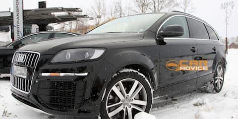 2013 Audi Q7 prototype spied