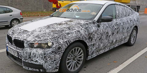 2017 BMW 5 Series GT spy photos