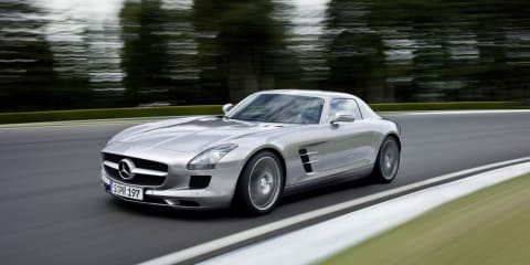 Mercedes-Benz SLS AMG wins Golden Steering Wheel Award