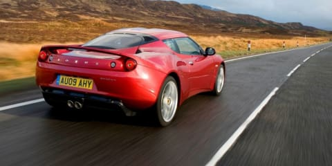 2009 Lotus Evora pricing and dates