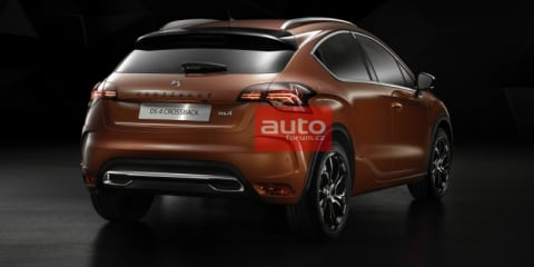 2016 Citroen DS4 Crossback SUV, DS4 hatch facelift revealed in leaked shots