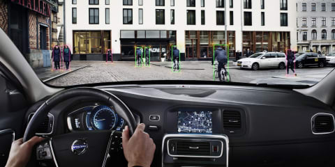 Volvo reveals world-first cyclist detection system