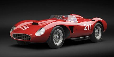 Super-rare 1957 Ferrari 625 TRC changes hands for over $6 million