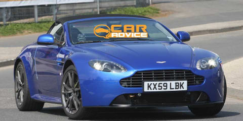 2011 Aston Martin V8 Vantage Roadster Spy Photos