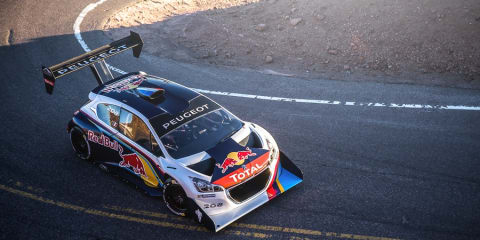 Peugeot 208 T16 makes Pikes Peak debut