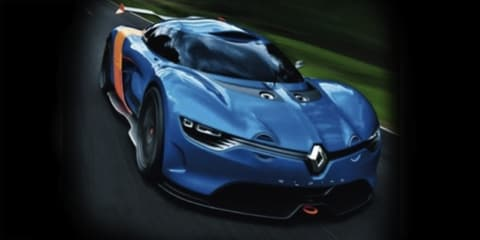 New Renault Alpine Concept leaked