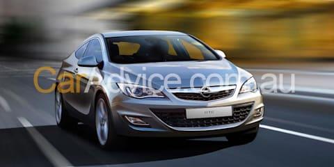 2014 Opel Astra Coupe - Spy Pics