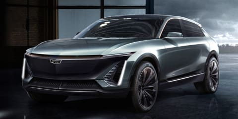 Cadillac electric crossover previewed