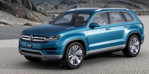"Volkswagen CrossBlue : local division ""very keen"" on seven-seat SUV"