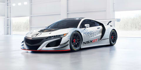 Honda NSX GT3 New York reveal signals 2017 racing intent
