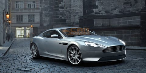 2012 Aston Martin DB9/DBS spy video and rendering