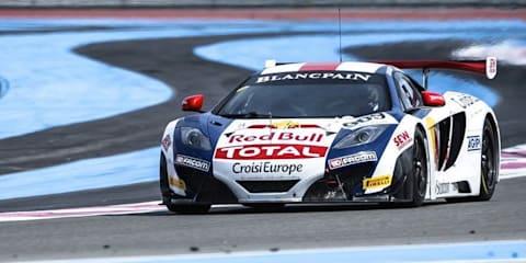 Sebastien Loeb wins qualifying race in McLaren MP4-12C