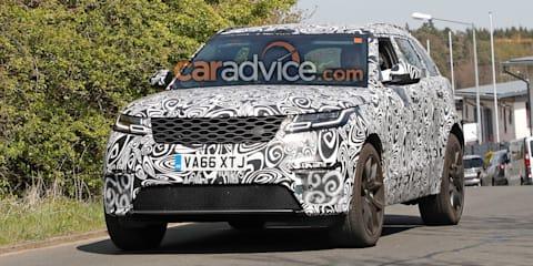 2018 Range Rover Velar 'SVR' spied