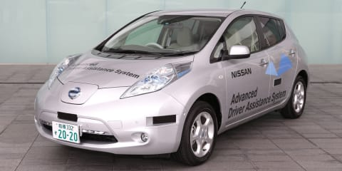 Nissan Leaf becomes Japan's first road-legal autonomous vehicle
