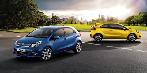 Kia Rio Sport and SLi variants join updated range