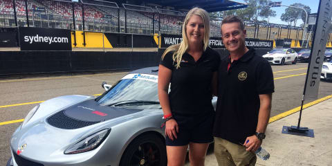 Meet Grant Denyer:: Triumphant on television, track and tarmac