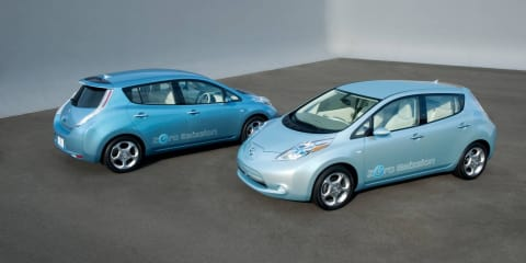 Nissan Leaf drives 187km on single charge