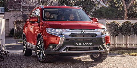 2019 Mitsubishi Outlander revealed