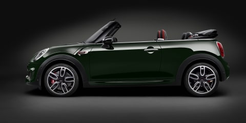 2016 Mini John Cooper Works convertible revealed: Australian debut still to be confirmed