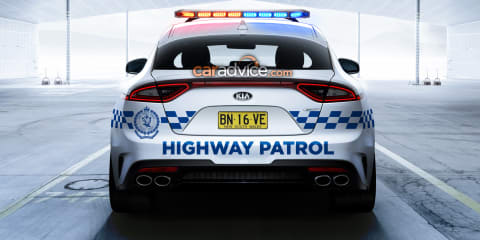 Kia Stinger a strong candidate for NSW and QLD Police force