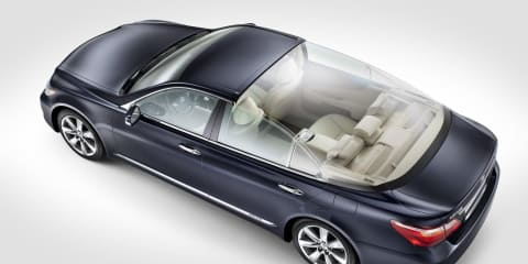 Lexus LS 600h L Landaulet Monaco royal wedding car
