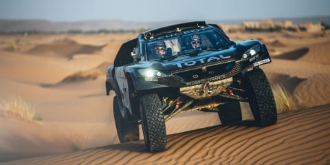 Peugeot 2008 DKR16 update unveiled