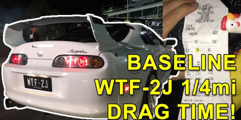 Project WTF-2J, episode 3: What 1/4mi time can a stock boost supra run? The search for 10s!
