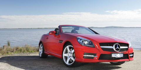 2012 Mercedes-Benz SLK250, SLK55 AMG on sale in Australia