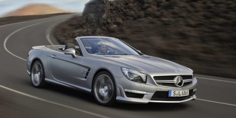 Mercedes-Benz SL63 AMG: racey roadster revealed