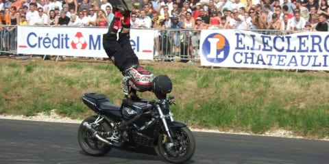 YouTube stunt rider jailed