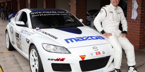 Mazda RX-8 SP to use E85 petrol at Targa Tasmania rally
