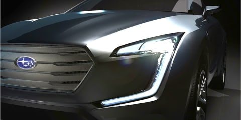 Subaru Viziv concept previews new crossover design language