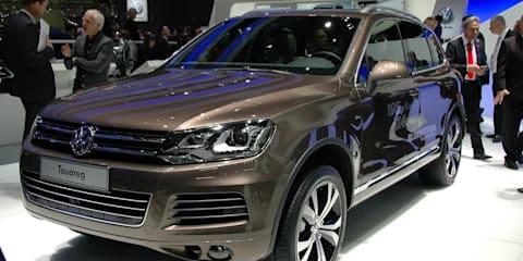 Volkswagen Touareg at Geneva Motor Show