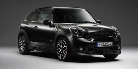 Mini Countryman, Paceman Frozen Black edition: five matt cars for Oz