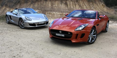 Jaguar F-Type v Porsche Boxster: Comparison Review