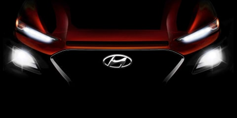 2018 Hyundai Kona SUV teased - UPDATE