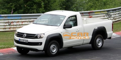 Volkswagen Amarok single cab ute at the 'Ring