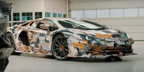"Lamborghini Aventador SVJ to have ""best weight to power ratio"" - video"