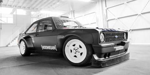 Ken Block reveals new RWD Ford Escort Gymkhana vehicle